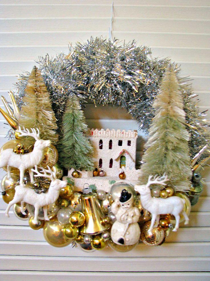 Retro Christmas Tree Decorations