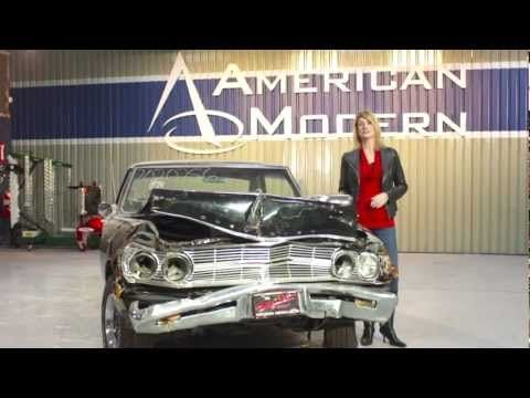 Welcome to the premier episode of The Build! We're going to restore an amazing but badly damaged 1965 Chevelle Malibu SS. Watch as Rick Drewry, American Modern's senior Claims Specialist explains to JoLynn Johnston that this classic Chevelle crashed into a brick wall. He'll also explain what's to come on The Build. Be sure to also follow along on http://www.facebook.com/AmericanModernCollectorCar #TheBuild @American Modern Insurance Group
