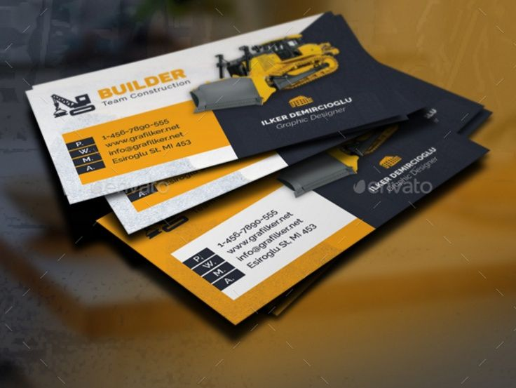 30 best 25 construction business card template psd and indesign 25 construction business card template psd and indesign format wajeb Image collections