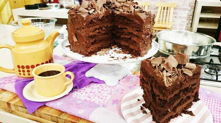 Torta puro chocolate, lujuria