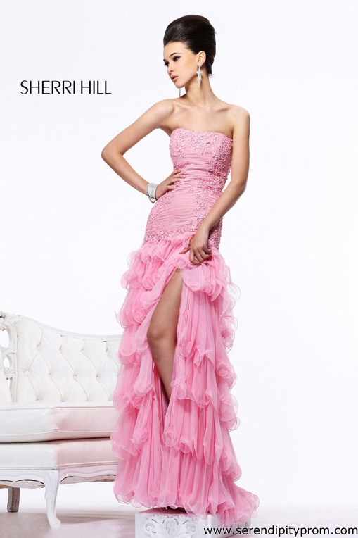 253 mejores imágenes de Sherri Hill 2013 en Pinterest | Vestidos ...