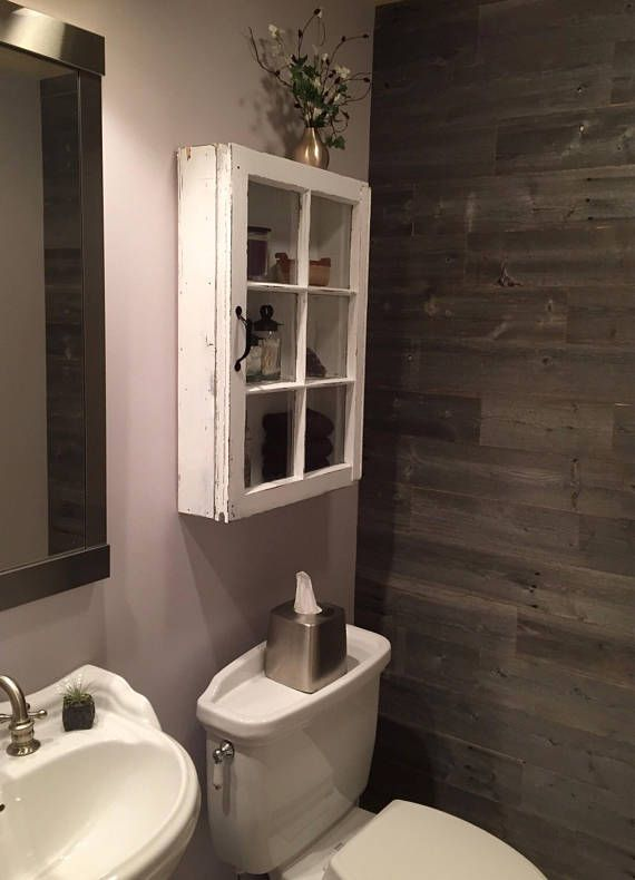 Rustic Medicine Cabinet Display Cabinet Over The Toilet Cabinet Wood Window Frame 6 Pane Window Cabinet Shabby Cabine Over The Toilet Cabinet Rustic Medicine Cabinets Small Bathroom