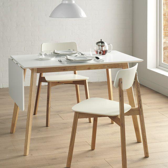 Mesa de cocina extensible de madera liverpool mesas de - Mesas madera extensibles ...