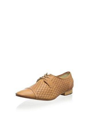 53% OFF J. Shoes Women's Hoxton Oxford (Dark Tan)