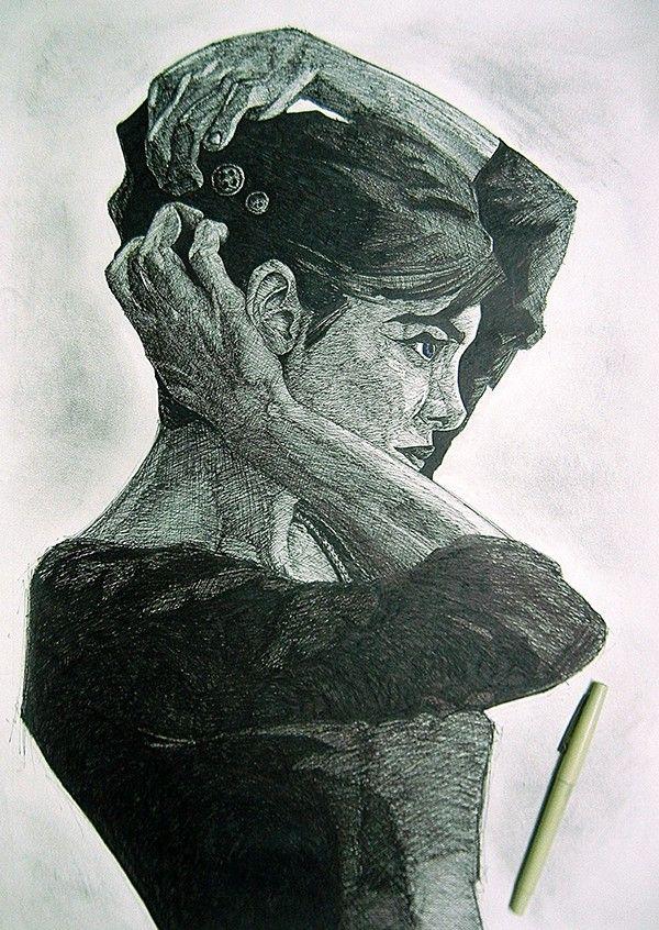 Inspired by Artist Viktor Miller-Gausa by Iram Khan