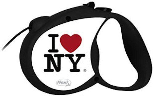 RETRACTABLE DOG LEASH LOVE N.Y.