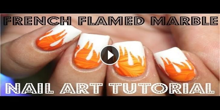 Nail art Fiammeggiante