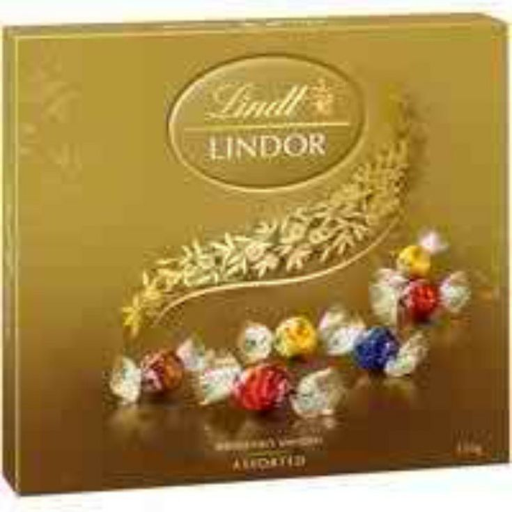 LINDT LINDOR ASSORTED CHOCOLATES 150G The ultimate LINDOR gift for the ultimate LINDOR lover. Share delightfully delicious LINDOR truffles in four delectable flavors with neighbors, colleagues and friends. free shipping Australia. #FruitHampers #FruitHamper #GiftHampers #HampersAustralia #baileys #baileysgift #gifts #freedelivery #giftbaskets #baskets #giftbasketssydney #giftbasketsmelbourne #giftbasketsaustralia #fruit #box #gifts #sympathy #birthday #anniversary #getwell #gifts #occasions