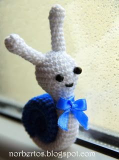 Crochet snail free pattern PDF