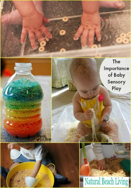 Baby Sensory Play With Cereal Exploring Baby Sensory