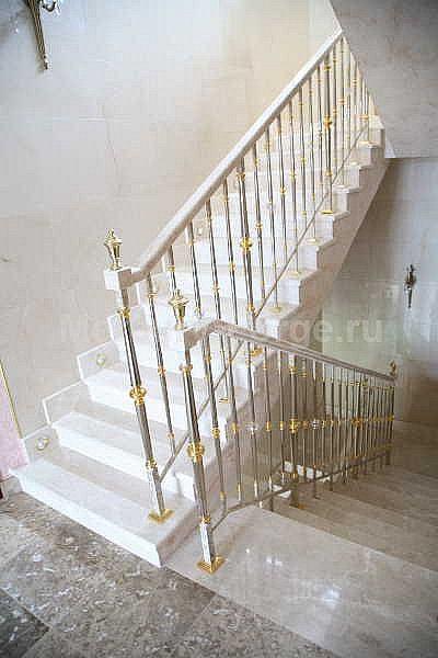 Латунное лестничное ограждение - «Mercury Forge» #stairs #decor # home #grandeforge #paris #mercuryforge #лестницы #ограждения #париж #москва #дом #интерьер