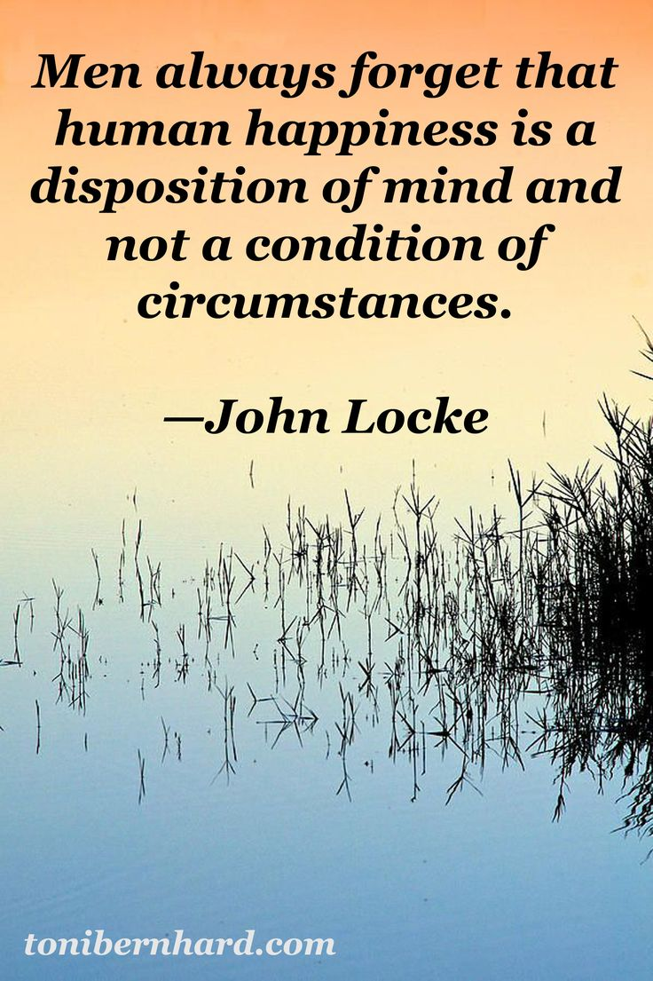 "English philosopher, John Locke. This is one of themes of my book ""How to Wake Up"" (substituting ""people"" for ""men"" of course)."
