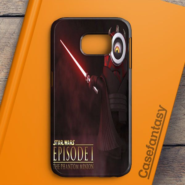 Funny Minion Wallpaper Darth Maul Star Wars Samsung Galaxy S6 Case | casefantasy