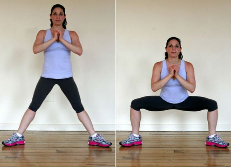 Start with your legs very far apart with your toes pointed ...