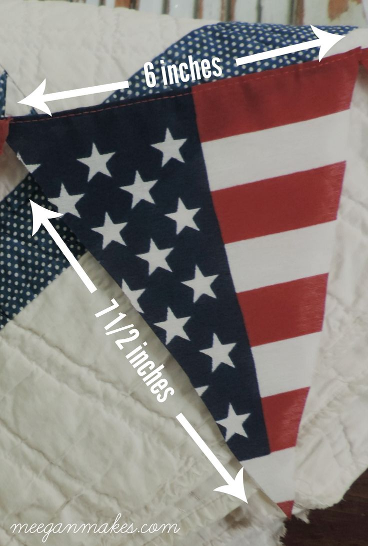 How To Make an Americana Pennant