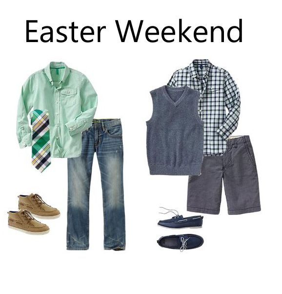 Boys Easter Weekend