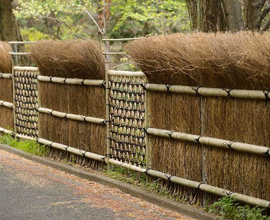 20 inspirasi desain pagar dari bambu ~ Teknologi Konstruksi Arsitektur