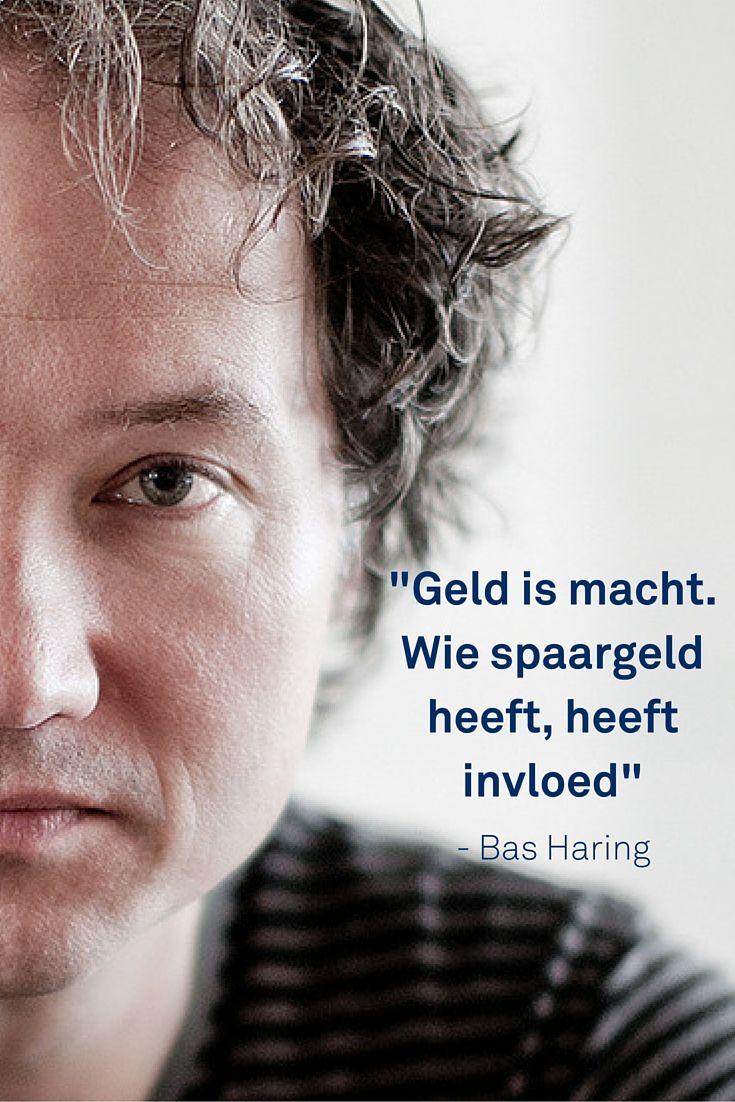 """""""Spaarders laten zich hun macht uit handen slaan."""" Dat zegt Bas Haring: https://dekleurvangeld.nl/geld-een-relatie/"""