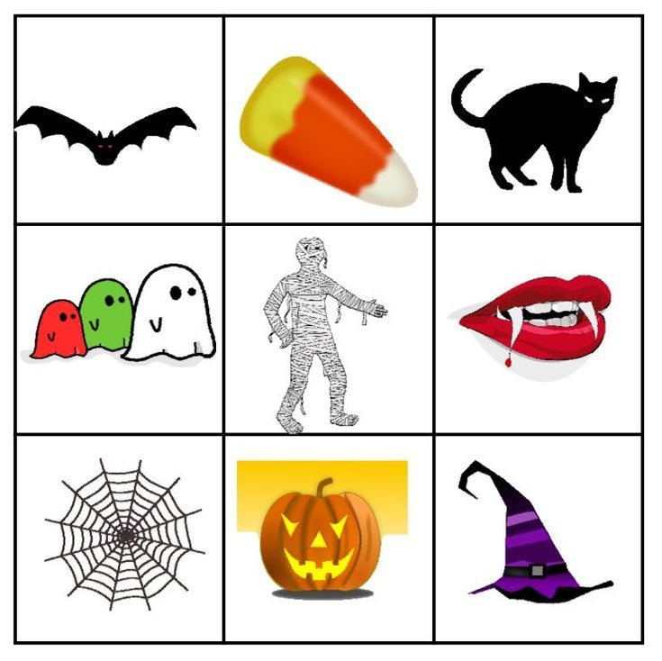 free halloween bingo cards perfect for the classroom or at home - Free Printable Halloween Bingo Game Cards
