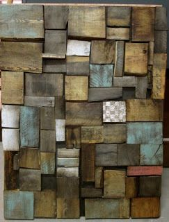 Decorate your home with a mural art made of pallets DIY Pallet ...
