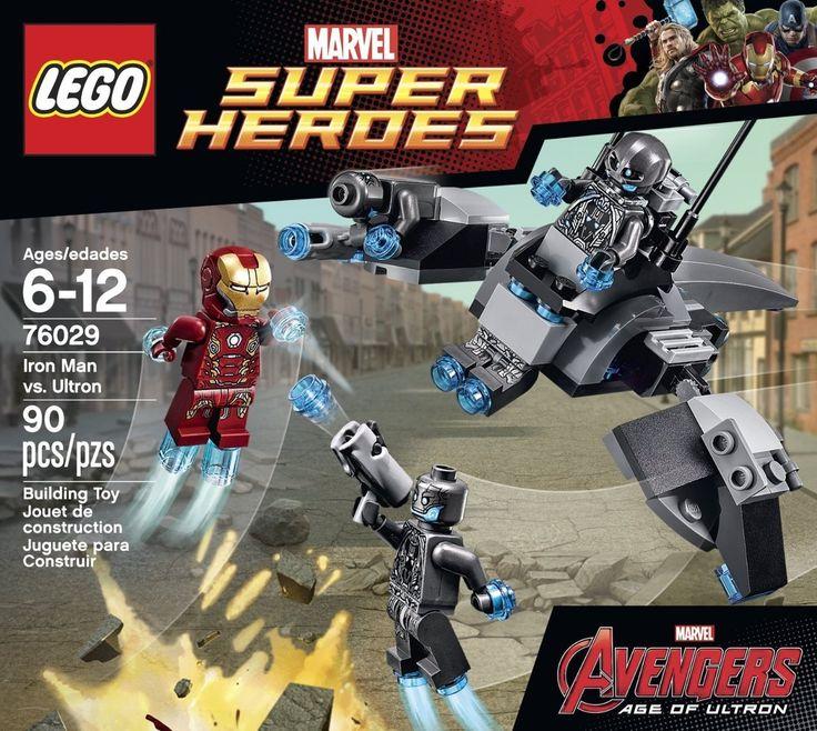 LEGO Superheroes Iron Man vs. Ultron 76029 - Discount Toys USA