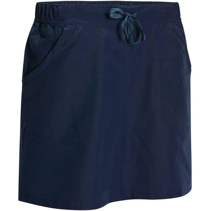 Gonna-short donna ARPENAZ 50 blu QUECHUA - Hiking Abbigliamento - Decathlon...