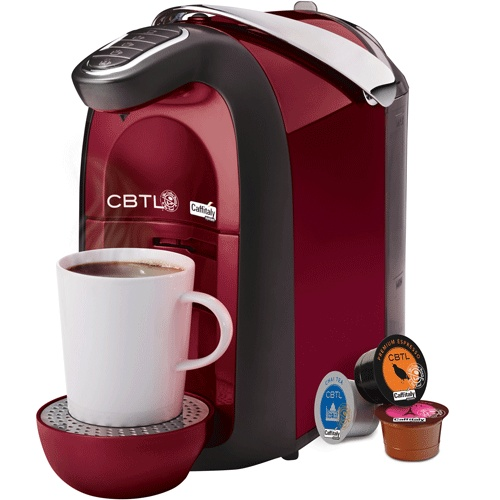The CBTL®Americano - single serve beverage machine, is elegant and easy to use for the at home barista - by Coffee Bean & Tea Leaf