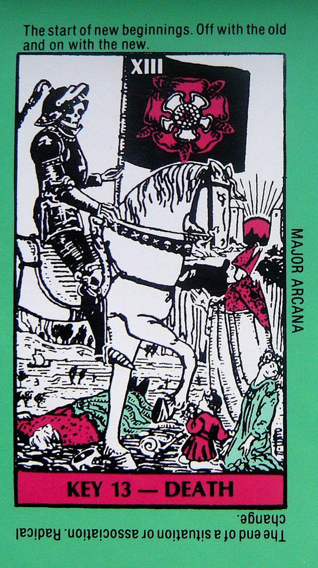 Rebirth Divination Card: 17 Best Images About Tarot Art - Death On Pinterest