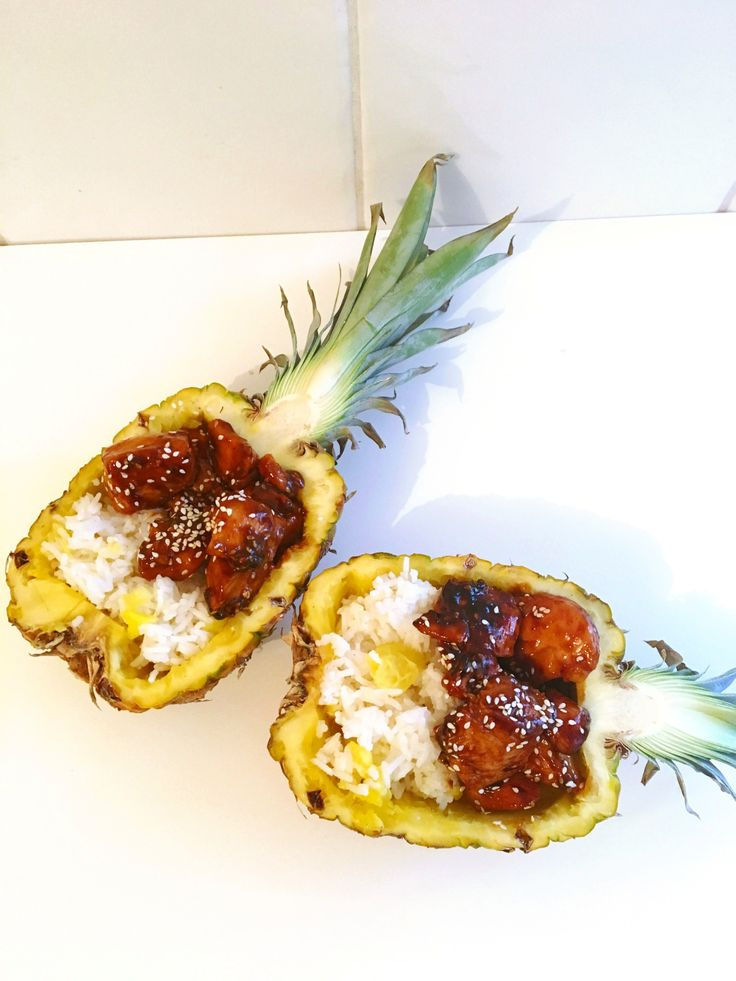 ... embrace our summer festive season and dive in with these delicious Teriyaki Pineapple Boats....They are so simple to prepare, and make an awesome...