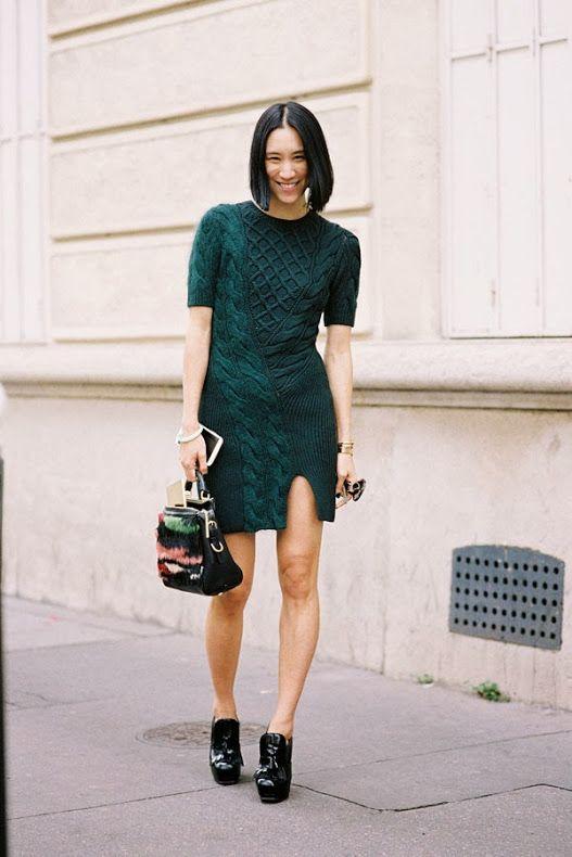 Paris Fashion Week....Eva Chen