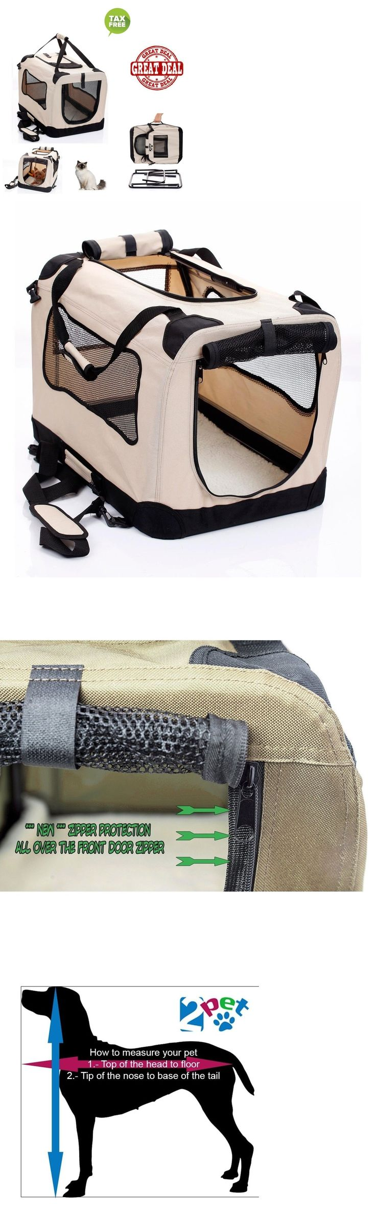 Carriers and Crates 116362: Pet Carriers For Cats Dog Crates Small Dogs Cat Carrying Case Travel Accessory -> BUY IT NOW ONLY: $54.99 on eBay!
