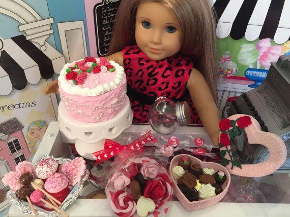 American Girl Doll Julie Birthday Cake