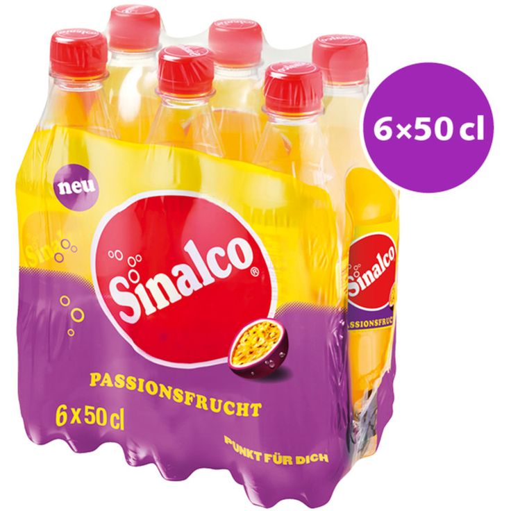 Sinalco Limonade au fruit de la passion 6x50cl