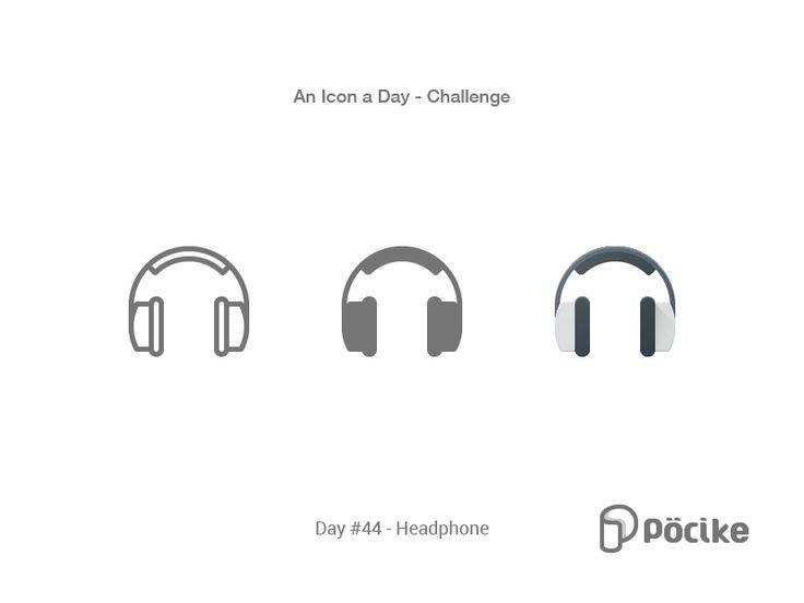 Icon Challenge Day 44 Headphone