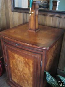 Kegerator Wood Cabinet  This Would Be An Amazing Surprise For Jack