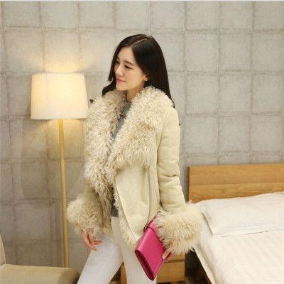 Шерсть натуральный мех пальто для женщин повседневная одежда женская одежда пиджак женщин зимнее пальто женский пиджак женская зимняя куртка женская