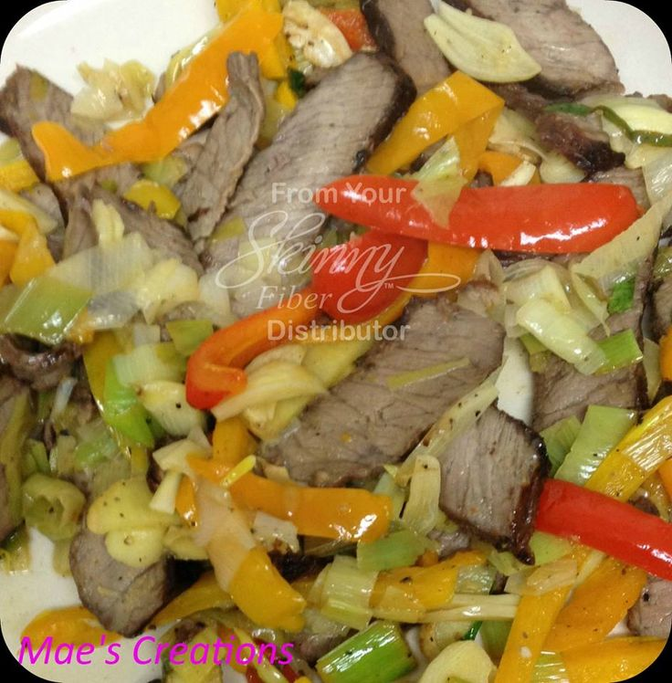 "Ginger Beef Stir Fry  1 cup diced leeks 3 small bell peppers sliced 1/2"" fresh ginger sliced finely fresh garlic sliced thinly (amount to your taste i used 2 cloves) left over steak sliced thinly (or whatever left over protein you have on hand) 1 good sized cilantro leaf sliced thinly (picked from my own herb container) juice of 1 lemon 1/2 tsp coconut oil for pan  heat pan with oil throw in all ingredients - freshly squeeze lemon juice over all for last few seconds and voila!! lunch for 1…"