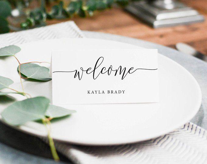 Rustic Elegance Table Numbers Diy Printable Wedding Table Numbers Wedding Template Ptc01 Rustic Place Cards Place Cards Wedding Diy Wedding Place Cards