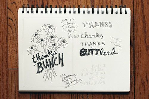 Amanda's Lettering #5 ...Thanks a bunch for practicing with me! :): Christmas Hands, Cards Ideas, Diy Hair, Lettering Drawings, Hands Letters, Cards Words Calligraphy, Hands Letterings Writ, Sketchbooks Hands, Thanks You Cards