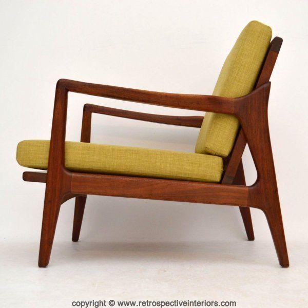 DANISH RETRO TEAK ARMCHAIR VINTAGE 1960's in Antiques, Antique Furniture, Chairs | eBay