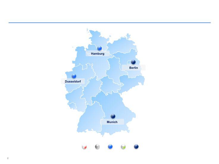 Descarga ahora Mapas de Alemania editables en Power Point