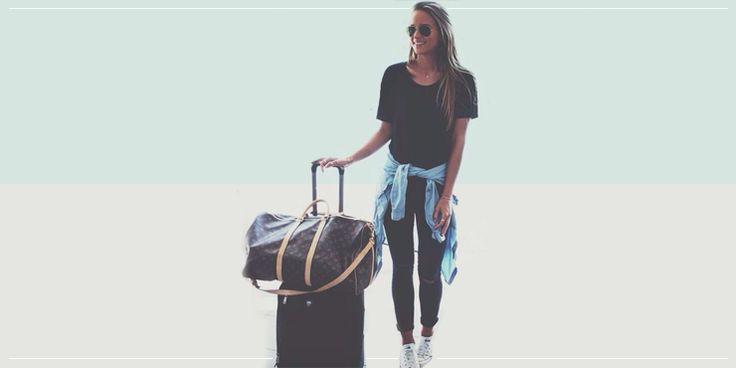 13 Looks de aeropuerto que te harán ver mega chic