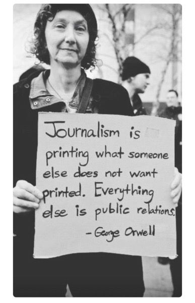 Come on media! Dust off the art of Investigative Journalism and rip the lid off Trump's White House.