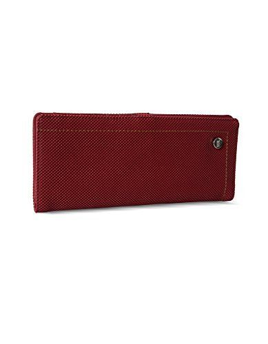 Online deal for 537.00 for Baggit   Baggit Women's Wallet (Maroon)   from amazon.in online shopping