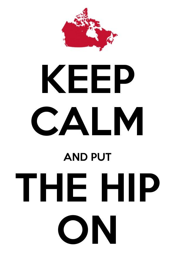 Keep Calm Hip On 3