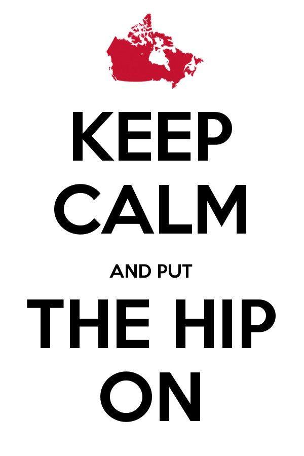 Keep Calm Hip On 3