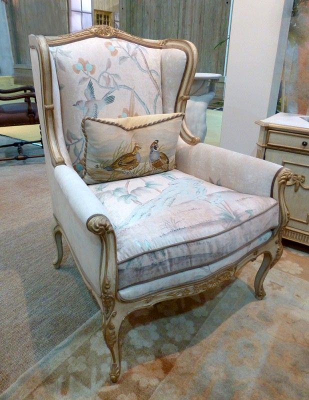 Louis XV Wingchair in a classic french style