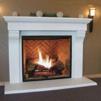 Fireplace Mantels And Surrounds Full Fireplace Mantels