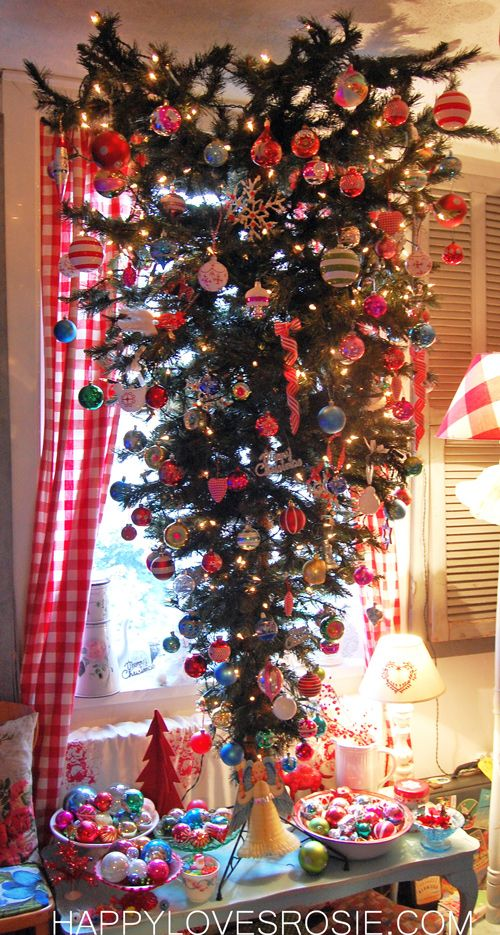 47 Best Upside Down Christmas Trees Images On Pinterest