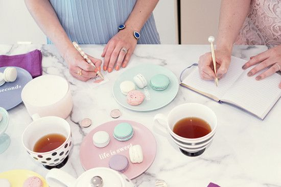 Top Five Tips for Hosting a Macaron Tea Party  Macarons by Ollia